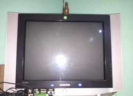 Samsung Big size TV with Dvd player
