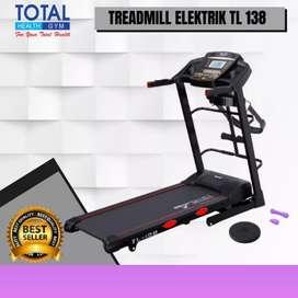 jual treadmill elektrik motorizer TL-138 MG-786 electric tredmil