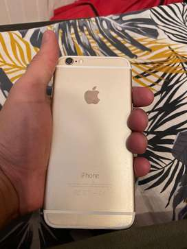 Iphone 6 64gb 10/8 condition gold