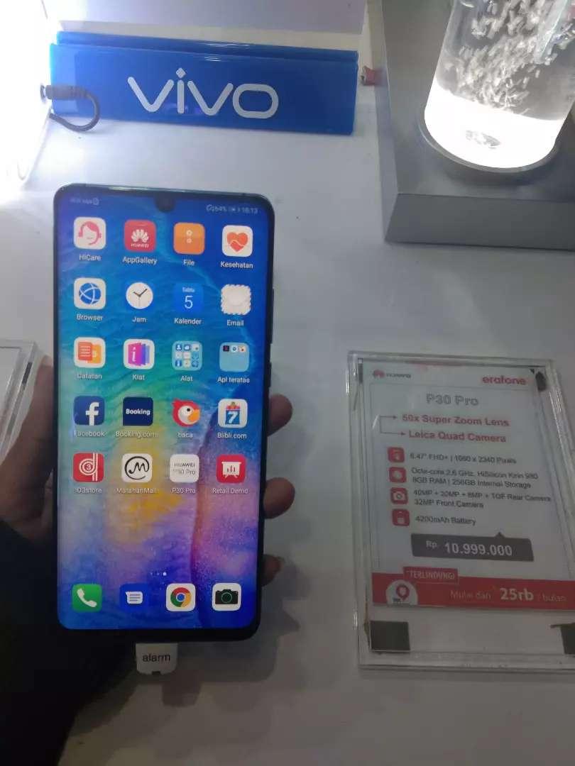 Huawei P30 Pro yuk cicil tanpa kartu kredit pot 1x angsuran no hoax 0