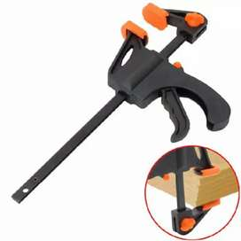 HS Speed Squeeze Ratcheting Clamp Penjepit Kayu 4 Inch