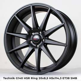 velg mobil ring 20x8,5 time attack smb