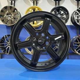 Velg Racing Mobil R17 Buat Jazz Yaris Swift Fiesta Freed Mobilio Brio