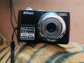 Nikon COOLPIX L24 14 MP Digital Camera with 3.6x NIKKOR Optical Zoom
