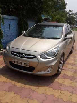Lifetime tax paid Hyundai Verna in  excellent condition