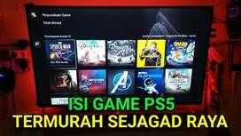 game ps5 koleksi ratusan game surabaya