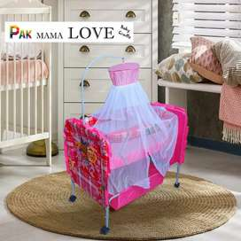 Baby Swing Cot & Cradle With Stand Support for baby and baba