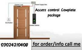 ACCESS CONTROL DOOR OPERATING SYSTEM COMPLETE INSTALLATION