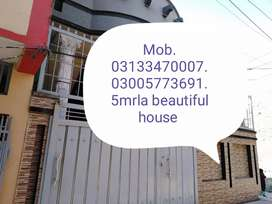 Luxury fresh furnished house boring water gais reasonable price purch