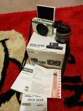 Kamera mirolles canon eos m100