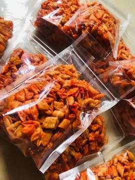 Snack kulit pangsit