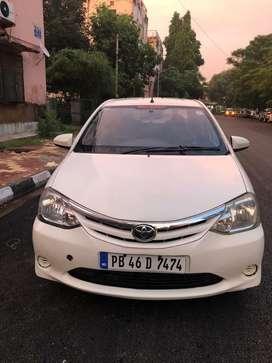 Toyota Etios VD SP*, 2012, CNG & Hybrids