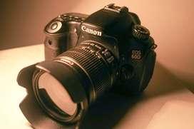 Canon EOS 60D + Lensa EF-S 18-55mm