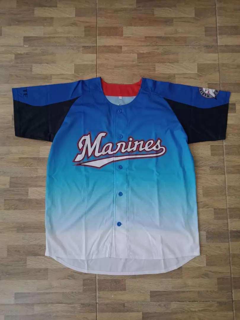 Chiba Lotte marines Original Size free (70x56cm) Kondisi : 9.5/10 0