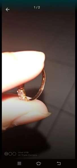 Jual cepat cincin emas muda satu gram ex cewek harga neeet aja