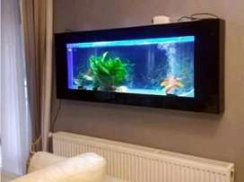 Aquarium mewah untuk apartemen