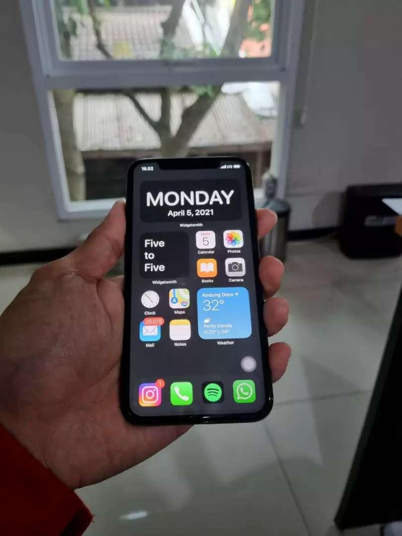 Iphone X hitam 256GB