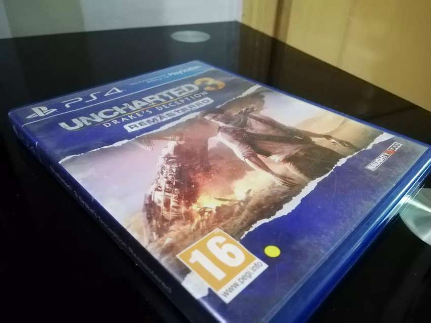 Uncharted 3 remastered (PS4) 0