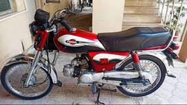 United 70 cc Model 2018 A1 Condition