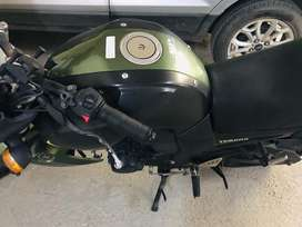 Well maintained Army Green color FZ-S