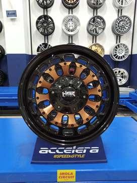 Veleg mobil racing terbaru Pajero R16 HSR MYTH07 Ring 16 Triton Strada