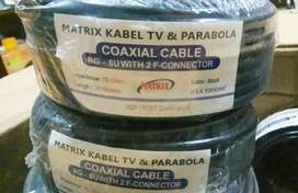 Kabel antena TV & Parabola sinyal kuat tanpa boster