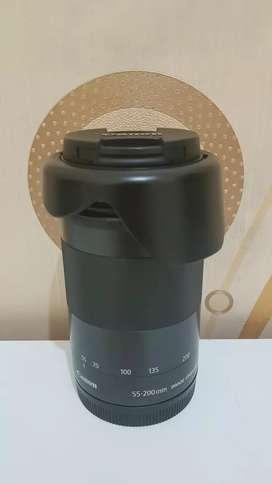 Lensa Canon Mirrorless 55-200mm IS