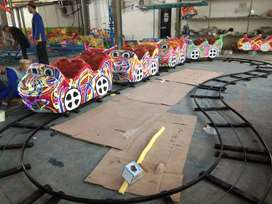 Mini coaster panggung odong odong pancingan elektrik RAA