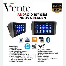 Headunit Android Vente OEM All New Innova Reborn Include Pasang