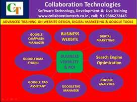 Advanced Training on  website,Digital Marketing and Google Tools