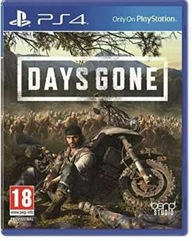 Days gone, dishonored, uncharted ps4
