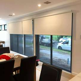 Roller Blinds (Manual & Motorised System)