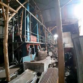 Kayu jati bulat bekas bangunan, mesin selep beras bekas + mesin kapal