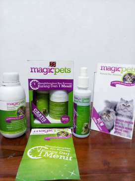 Magic Pets (Formula Penghilang Bau Kotoran Hewan)