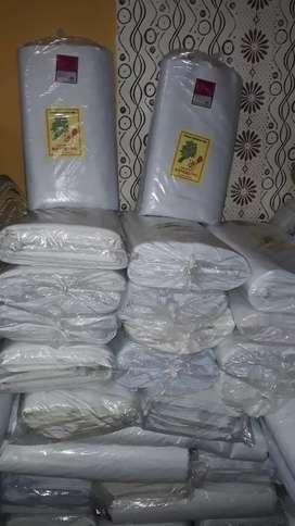 Distributor kain kaffan mori termurah terlaris 1rol p 50m L95cm