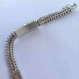 gelang perak pria silver antik unik ukir