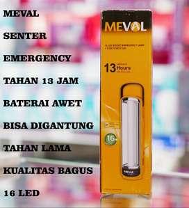 LAMPU EMERGENCY SENTER LED MEVAL