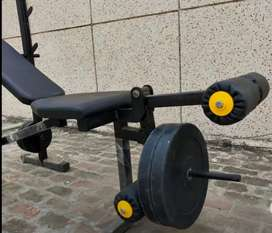 All purpose gym bench