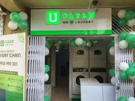 Running Laundry business for sale . Shop is on RENT.