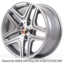 rostock hsr ring 17x7,5 h5x112 GMF