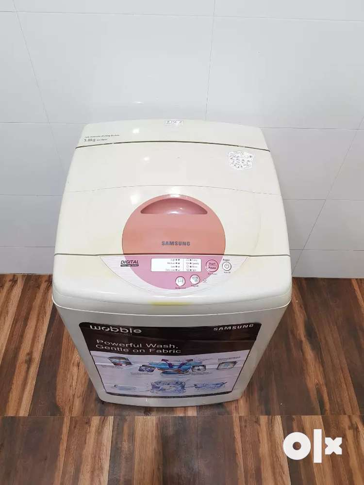 Samsung digital 5.8kg top load washing machine free home delivery