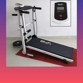 treadmill manual 5fungsi CT-672 Ii sepeda statis