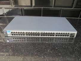Switch Gigabit 48 Port HP Procurve 1810-48G GARANSI TUKAR BARU