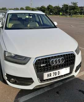 Audi Q3 2014 Diesel Well Maintained first owner full insurance.