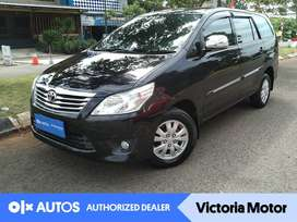 [OLXAutos] Toyota Kijang Innova 2.0 G Bensin A/T 2012 Hitam