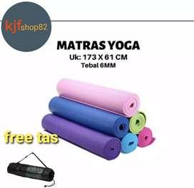 Matras untuk Yoga EVA free Tas