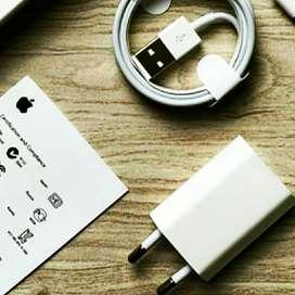 Charger + Kabel Data Original Lightining iPhone 6+ Garansi