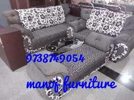 New 3+2+diwan elephant sofa set just 32000