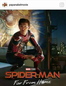 Film DVD Spiderman Far From Home