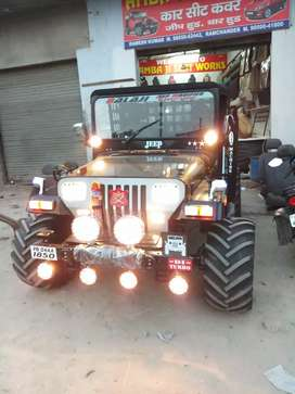 Shri bala ji modifiers jeep